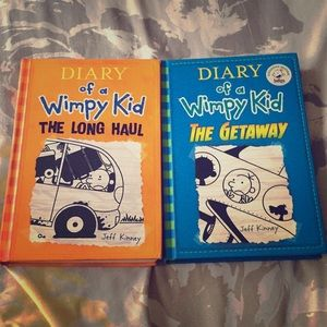 Diary of a wimpy kid:the long haul and the getaway